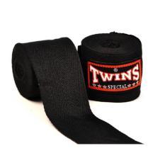 Băng đa quấn tay Twins Kick Boxing Muay MMA – Đen (1 cuộn)
