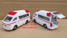 Xe mô hình Tomica – Xe Toyota cứu thương màu trắng