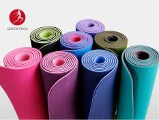 Thảm tập yoga tpe 2 lớp cao cấp(kèm tặng túi)