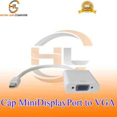 Cáp Mini DisplayPort sang VGA Adaptor – Trắng tem VSP