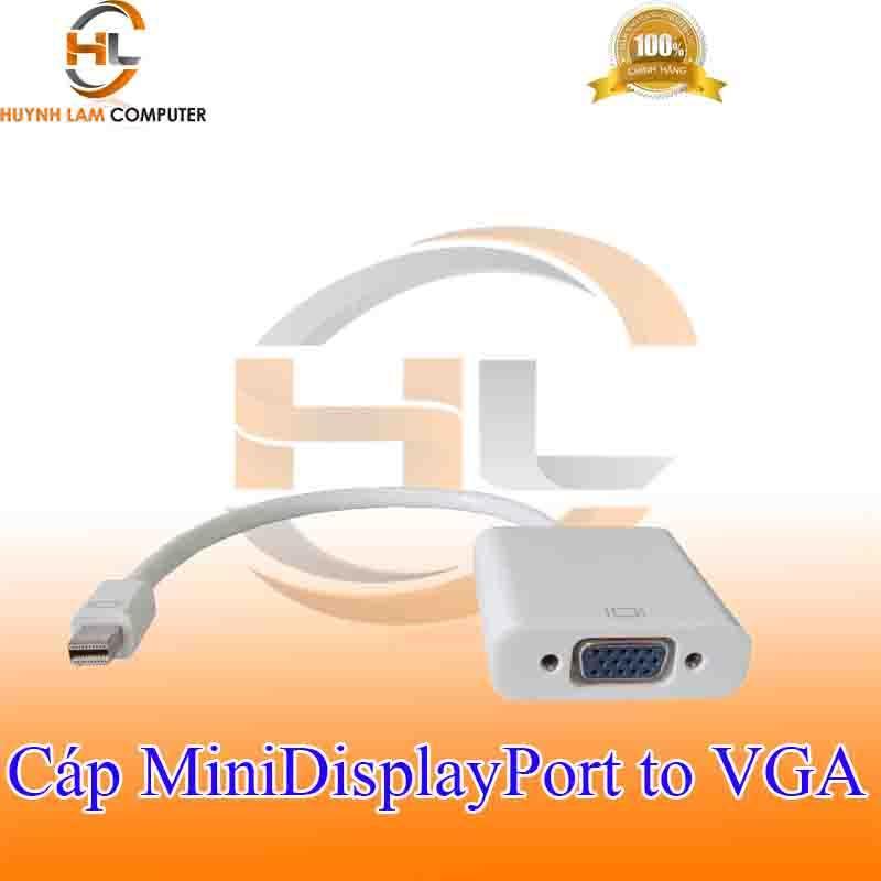 Cáp Mini DisplayPort sang VGA Adaptor - Trắng tem VSP