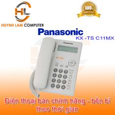 [Nhập ELAPR21 giảm 10% tối đa 200k đơn từ 99k]Điện thoại bàn Panasonic chính hãng TID phân phối – Điện thoại Panasonic KX-TS C11MX