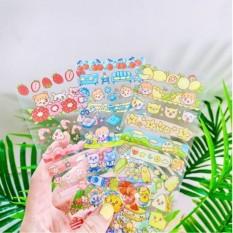 Sticker dài dễ thương