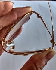 kính lão thị gọng dẻo titan tròng thủy tinh dành cho người già trên 40 tuổi đủ số từ +0.5- +4.0