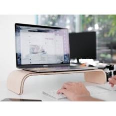 Kệ màn hình uốn cong Monitor Stand Plyconcept – Màu gỗ