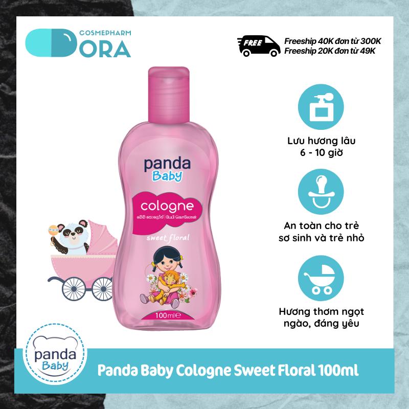 [Freeship Max – Tặng 1 chai nước hoa 50ml đơn từ 120K] Nước hoa cho bé Panda Baby Cologne Sweet Floral 50-100ml