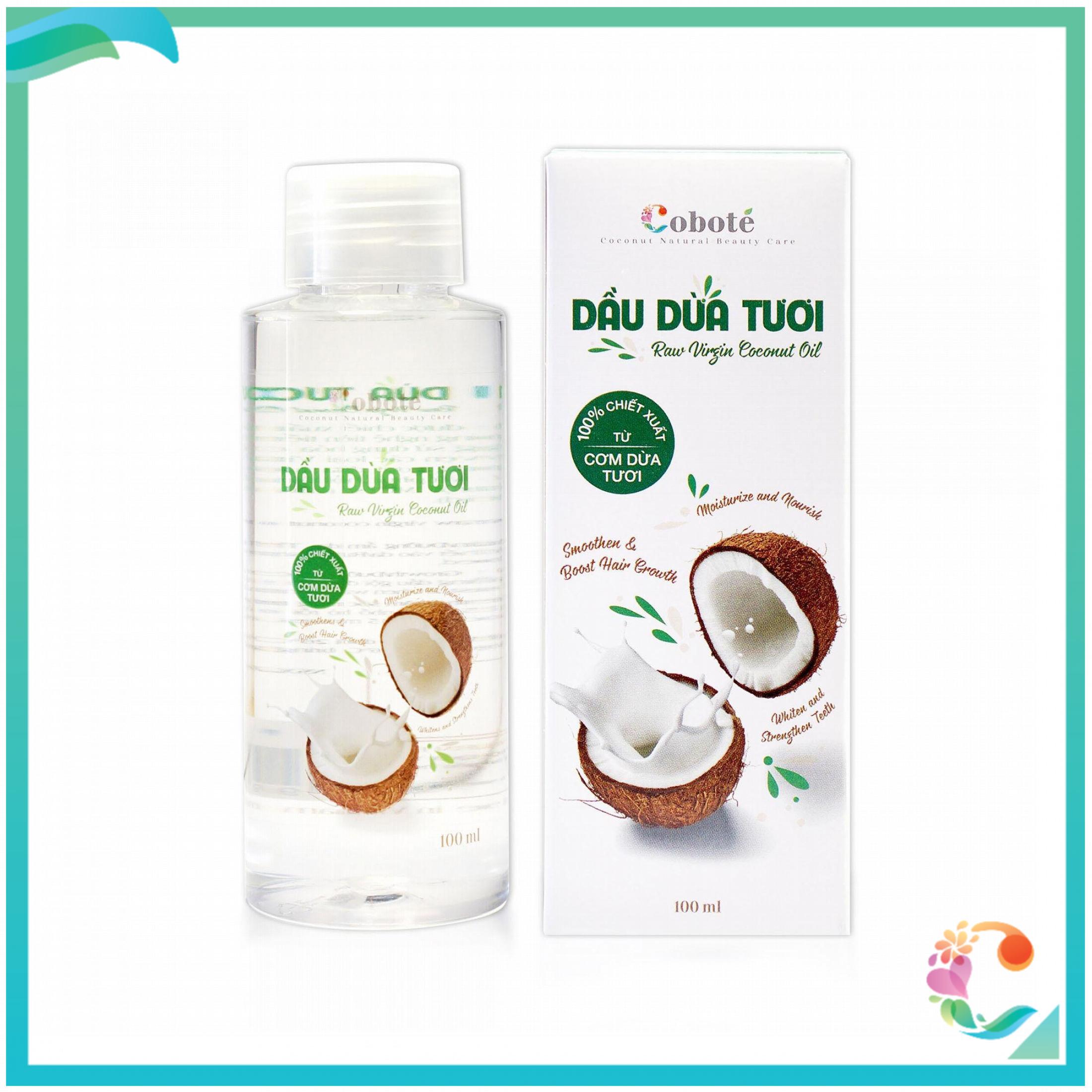 Dầu dừa tươi™ đa năng Coboté – 100% cơm dừa tươi Bến Tre