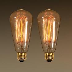 Bộ 2 bóng 3 bóng 5 bóng đèn Edison Vintage 40W E27 B-259