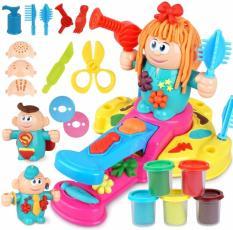 Bộ đồ chơi tạo kiểu tóc từ bột nặn dẻo