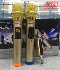 Bộ 2 micro Karaoke không dây ZANSONG S28 (Màu Random) Hỗ trợ các thiết bị có jack cắm 3.5mm và 6.5mm – Nhất Tín Computer