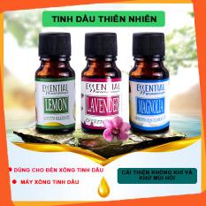 Tinh dầu thơm phòng, tinh dầu thiên nhiên làm thơm thư giãn, giá dùng thử cho đèn xông tinh dầu, máy khuếch tán tinh dầu, máy phun sương, nhiều mùi -10ml