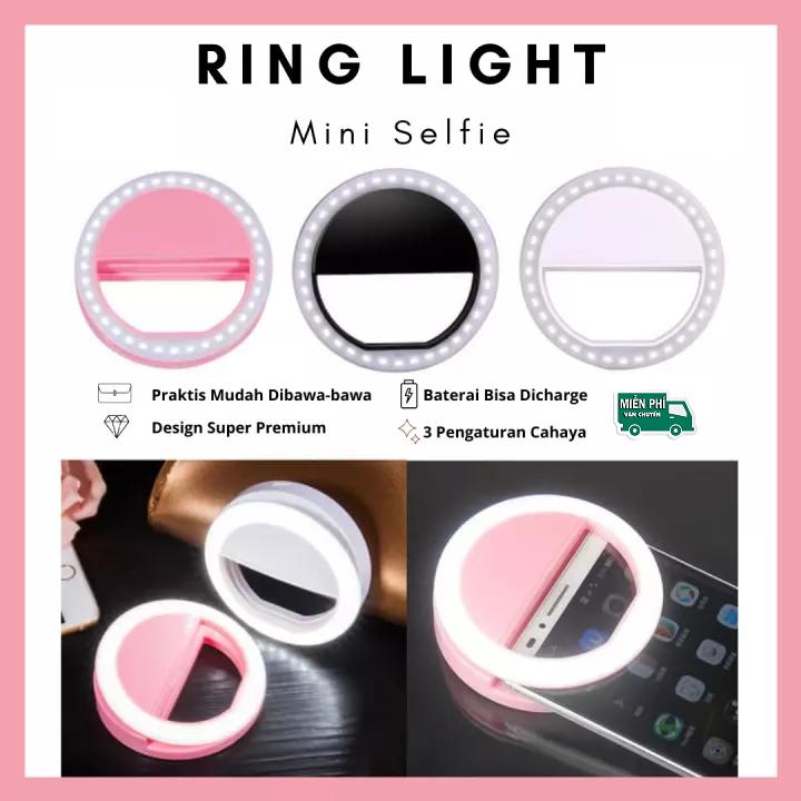 Đèn LED Selfie kẹp điện thoại tạo hiệu ứng ánh sáng chụp ảnh siêu đẹp – Đèn selfile trợ sáng, đèn led trợ sáng chụp hình tự sướng, livestream cực nét, cực đẹp – thegioisilevip