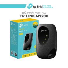 Bộ Phát Wifi Di Động 4G LTE TP-Link M7200, wifi không dây 4g 2.4GHz, bộ phát wifi di động 150Mbps – Hàng Chính Hãng