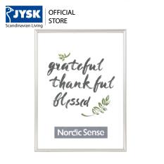 Khung ảnh JYSK Nordicsense nhựa PVC 13x18cm (Bạc)