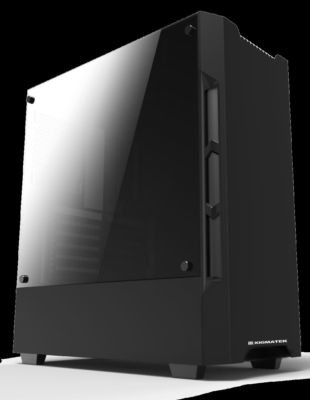 Vỏ máy tính (CASE) XIGMATEK NEMESIS – ĐEN
