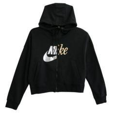 Nike – Áo khoác thể thao nữ as w nsw rally hoodie fz metal woman aj0091-010