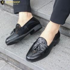 ( FREESHIP) Giày lười nam chất liệu da MỀM 3D Xoăn Shop Mã G012 chuông.