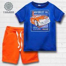 Quần áo bé trai hình Siêu xe thương hiệu cao cấp TAMOD.