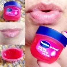 Sáp Son Dưỡng Môi Vaseline Mùi Hoa Hồng Lip Therapy Rosy Lips 7g dưỡng môi hồng min màng chống khô môi