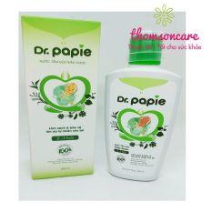 Dr Papie – Nước tắm gội thảo dược toàn thân cho bé – Chai 230ml