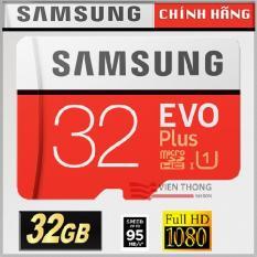 Thẻ nhớ MicroSDHC Samsung EVO Plus 32GB 95MB/s Chính hãng + Hộp nhựa – Bảo hành 5 năm 1 đổi 1