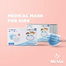 Khẩu trang y tế cho bé Mr Vui KTYT003 20 cái / hộp phù hợp bé 6 đến 10 tuổi