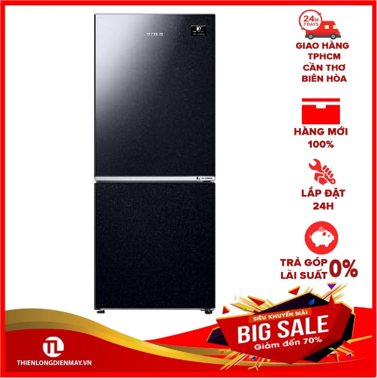 Tủ lạnh Samsung Inverter 280 lít RB27N4010BY/SV Mới 2020
