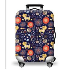 [Lấy mã giảm thêm 30%]Túi bọc bảo vệ vali -Áo vỏ bọc vali H38- Size L- HPValiOEM