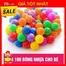 100 Bóng Nhựa Nhiều Màu – Túi 100 Bóng
