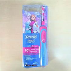 Bàn chải điện Oral-B Stages Power Kids Electric Toothbrush, 5+ Years, Soft Frozen