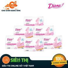 [Siêu thị Lazada] – Bộ 6 gói Băng vệ sinh Diana hàng ngày SENSI kháng khuẩn Gói 20 miếng