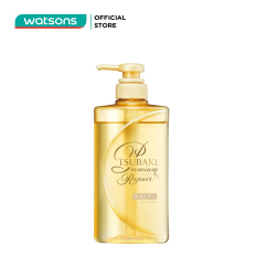 Dầu Gội Tsubaki Premium Repair Shampoo Phục Hồi Hư Tổn 490ml