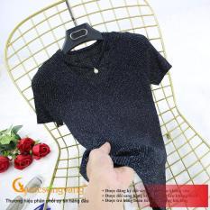 Áo kiểu nữ nữ đẹp áo len dệt kim mùa hè thu GLA272