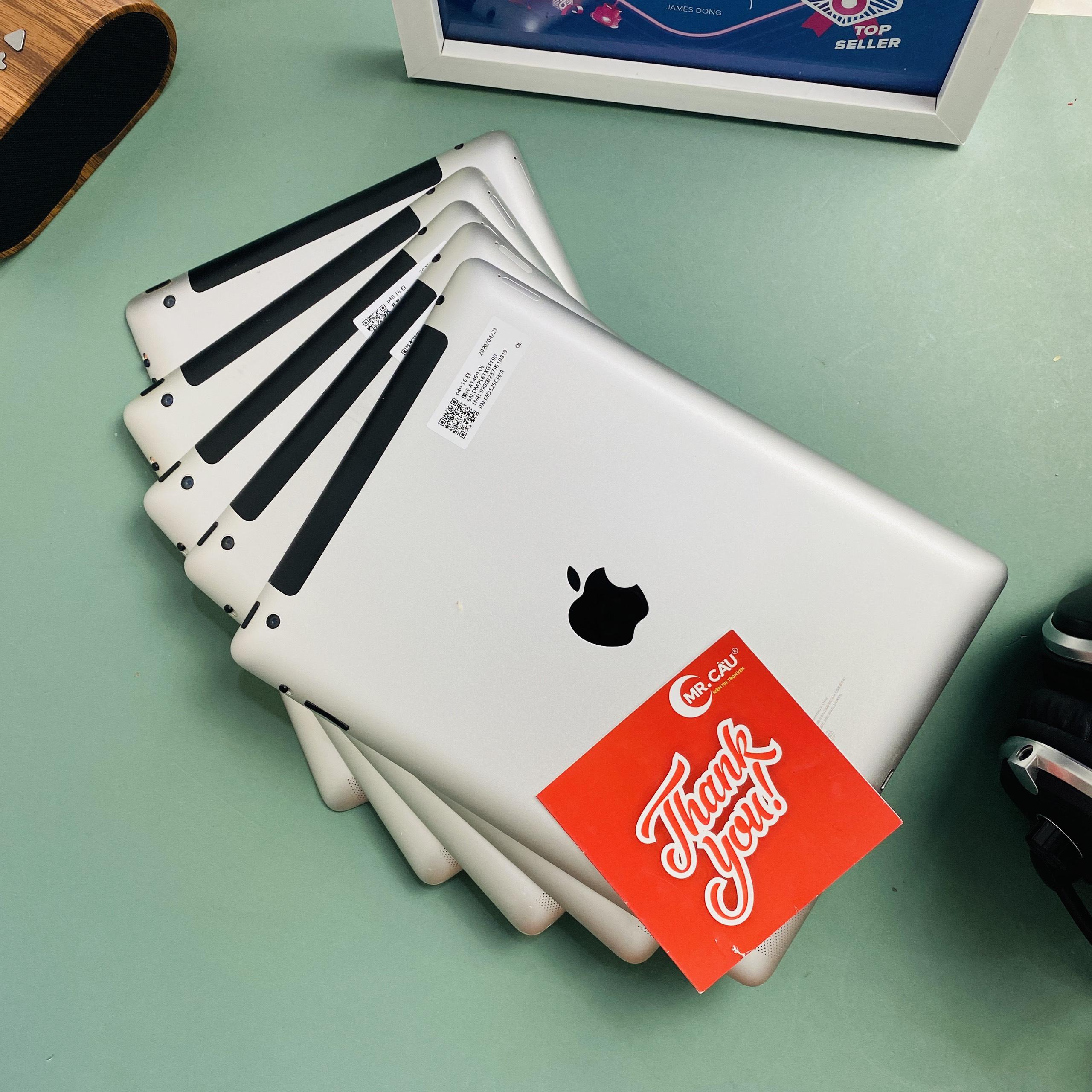 ( Flash Sale GIẢM 250K ) Máy tính bảng Apple IPAD 4 -(4G+ Wifi) , RAM 1G, Chip Apple A6X,...