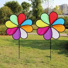 Chong chóng 7 màu, chong chóng nhựa, chong chóng xoay gió, Chong Chóng Vải 7 màu, Chong chóng bán hàng, chong chóng may mắn – Kích thước 46x70cm