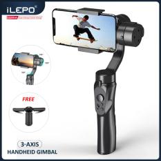 Gimbal chống rung, Gimbal cho máy ảnh, Gimbal chống rung cho điện thoại thông minh sử dụng hệ điều hành Android và IOS, 3 trục, xoay 360°, nhào lộn tùy thích, trợ lý chụp ảnh quay phim lý tưởng bảo hành 12 tháng F6