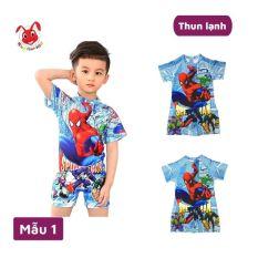 Đồ bơi bé trai liền thân hình siêu nhân từ 12-27kg, tạo cảm giác thoải mái cho bé trong mọi hoạt – Red Ant kids