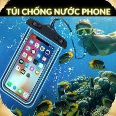 Túi chống nước điện thoại hình thú[No Worry], túi chống nước phone, túi đeo phone, túi treo điện thoại chống thấm