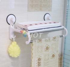 Giá để đồ khăn quần áo hút chân không nhà tắm Cao Cấp ( GÍA SỐC )