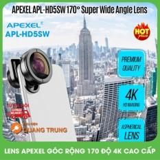 Bộ ống kính chụp ảnh,lens chụp ảnh apexel dành cho mọi loại điện thoại,len góc siêu rộng 170 độ,chất lượng ảnh 4K