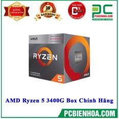 [Trả góp 0%]CPU AMD Ryzen 5 3400G Box Chính Hãng (6MB /3.7GHZ /4 NHÂN 8 LUỒNG)