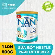 Sữa bột Nestle NAN OPTIPRO 3 900g cho trẻ từ 1-2 tuổi giúp trẻ dễ tiêu hóa tăng cường sức đề kháng và phát triển khỏe mạnh