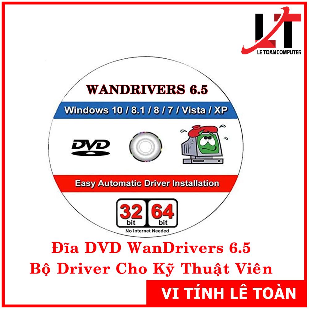 Đĩa DVD Easy DriverPack 6.5 AIO Việt Hoá
