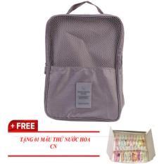 Túi Đựng Giày 3 ngăn dạng Túi Du Lịch tiện dụng – TẶNG NƯỚC HOA – mà nhỏ gọn cho bạn đi chơi KDR-NC055 Kodoros