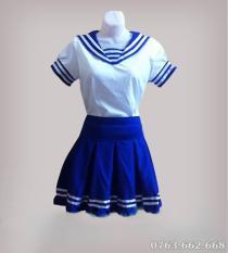 Bộ váy hải quân cho bé gái – Kèm Nón