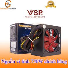 Nguồn Vi Tính 750W VSP Vision – Hãng phân phối (Không có Nguồn Phụ CS thực 200W)