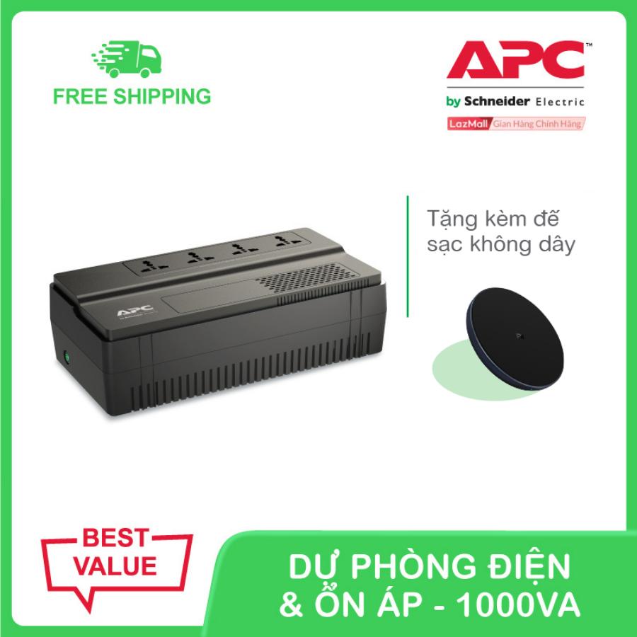 Bộ lưu điện APC Easy UPS BV1000I-MS 1000VA, 230V & ổn áp