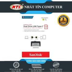 USB OTG Sandisk Ultra Dual Type-C 3.1 128GB 150MB/s (Bạc) – Nhất Tín Computer