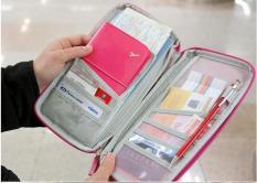 Bao vỏ đựng Passport Hộ Chiếu Bảo Quản Thẻ Coler HG121 Chống Thấm nước Shalla