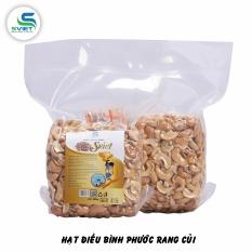 500g hạt điều rang muối bể – hút chân không – đồ ăn vặt xuất khẩu